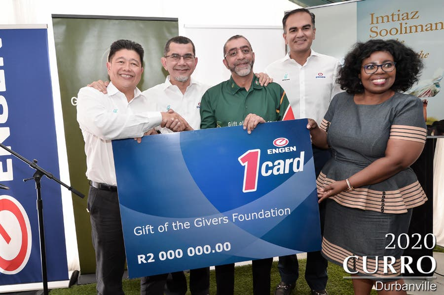Check for Gift of the Givers from Engen