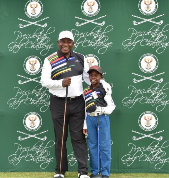 south african golf prodigy simtiger tshabala like tiger woods
