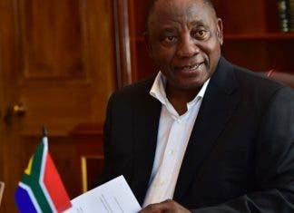 president cyril ramaphosa before sona