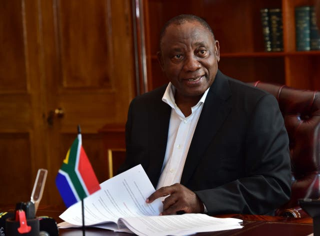 cyril ramaphosa before sona