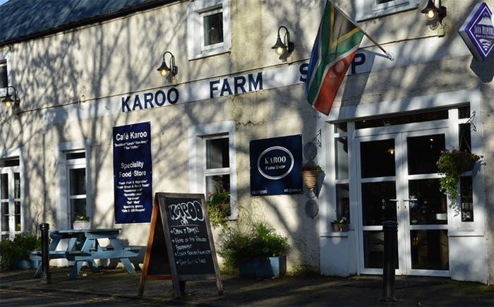 karoo farm shop irland south african flag