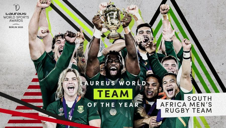 springboks win laureus world team of the year award