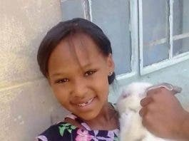 Tazne van Wyk missing 8 year old girl child south africa