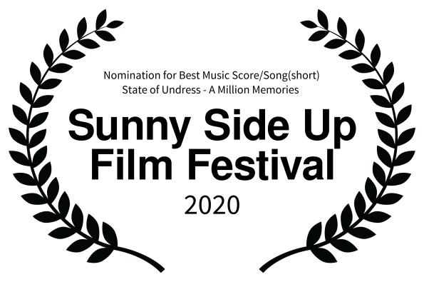 nomination Sunny Side Up Film Festival