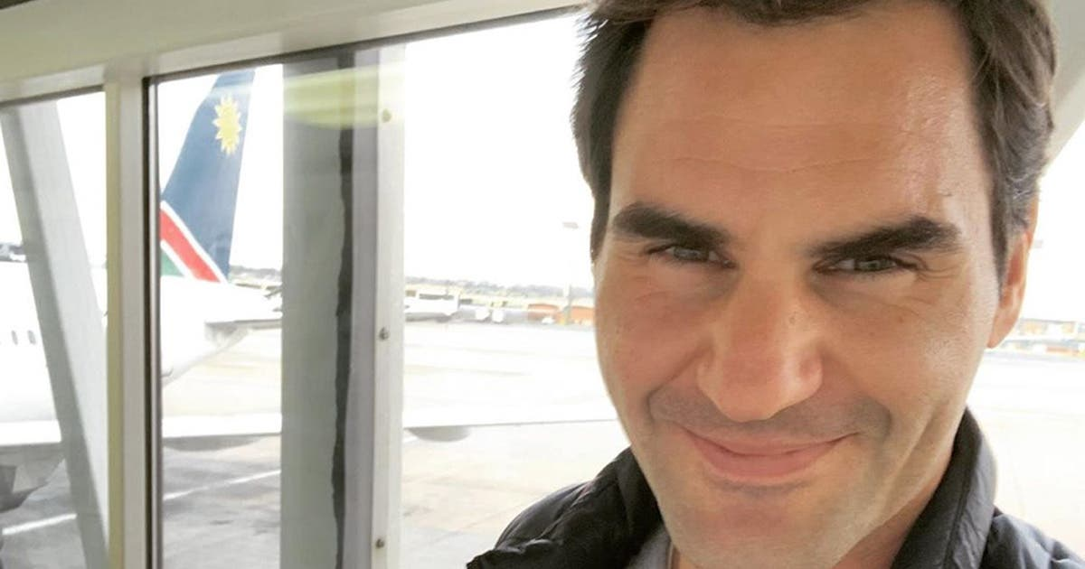 Roger Federer Has Arrived In South Africa Ahead Of Match In Africa Sapeople Your Worldwide South African Community