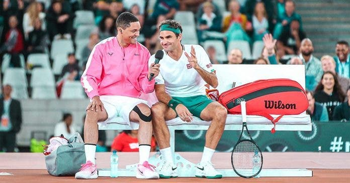 roger federer thanks cape town south africa
