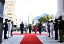 2020 State of the Nation Address Red Carpet Members of Parliament and their guests arrive ahead of the State of the Nation Address on the occasion of a joint sitting of Parliament. (Photos: GCIS)