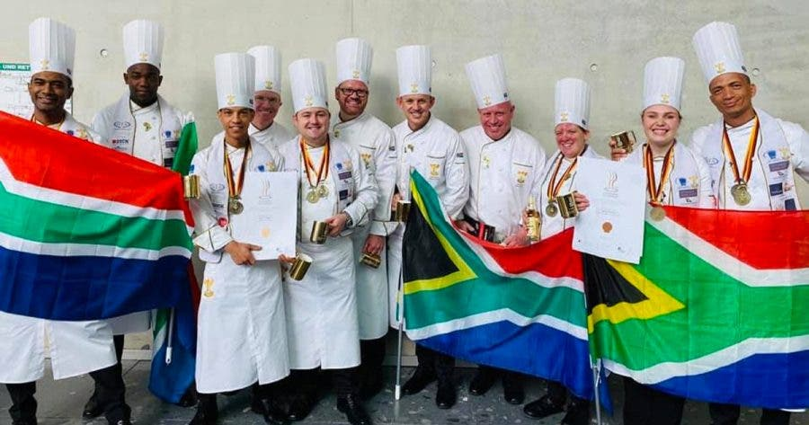 south african chefs win bronze olympics