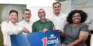 Cheque for Gift of the Givers from Engen