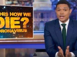trevor noah daily show coronavirus