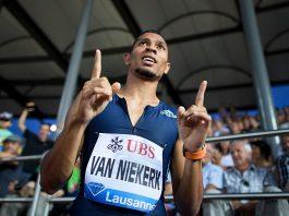 South Africa's Wayde Van Niekerk