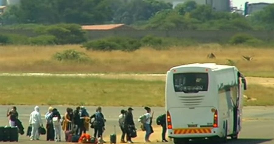 repatriated south african students china going home end quarantine