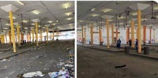 taxi rank johannesburg cleanup