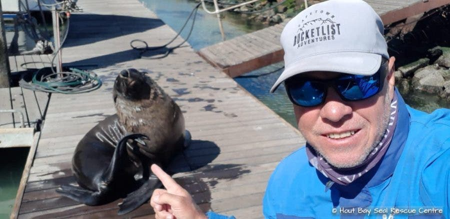 Hout Bay Seal Rescue Centre owner Deon van der Walt