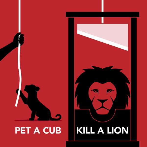 why do we pet lion cubs