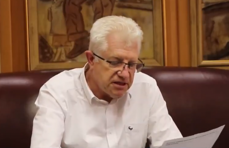 alan winde western cape premier south africa