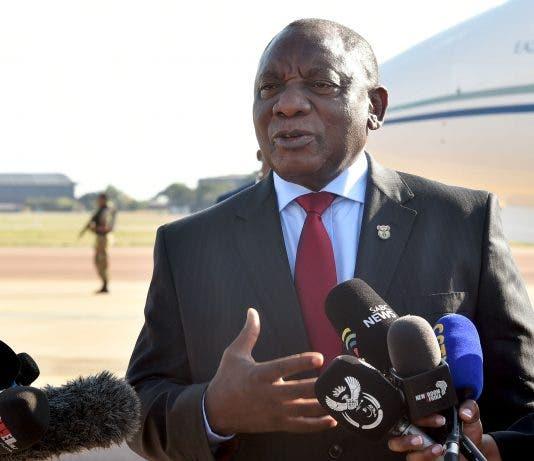 coronavirus south africa president ramaphosa