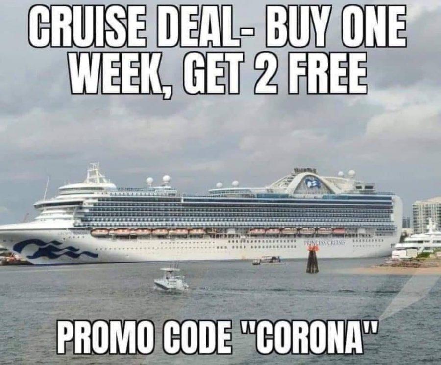 joke corona virus cruise ship deal