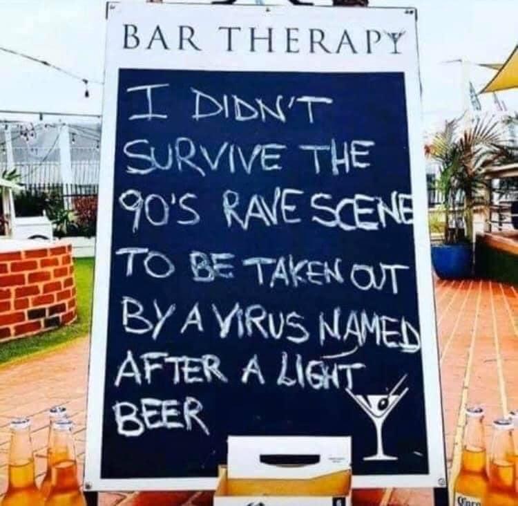 joke coronavirus beer