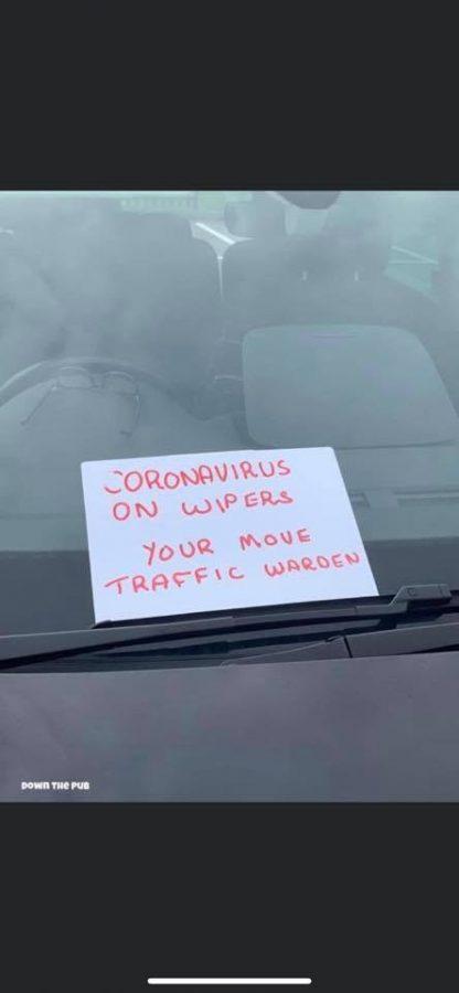 joke coronavirus wipers