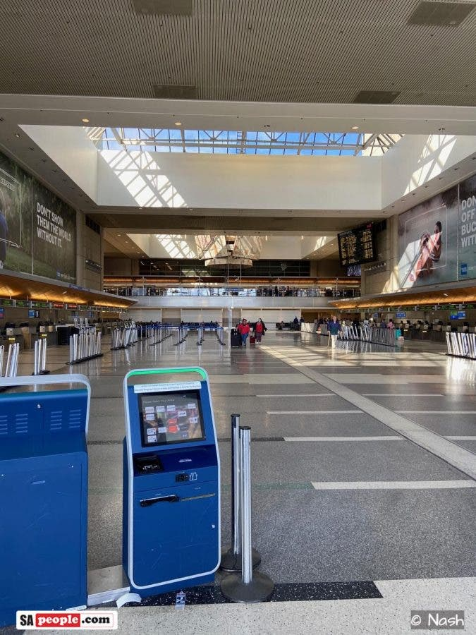 lax airport ghost town