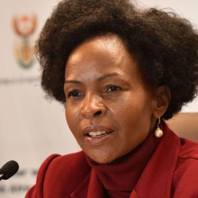 Minister in the Presidency responsible for Women, Maite Nkoana-Mashabane
