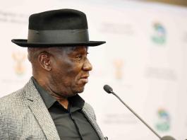police minister south africa arrests lockdown