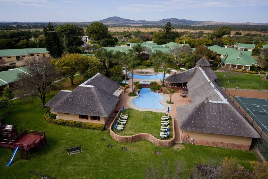 ranch resort south africans from china quarantine
