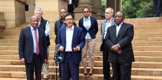 south africa corona virus business