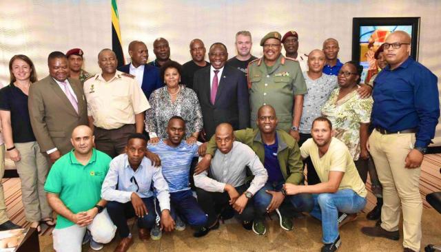 south africa corona virus team china repatriation wuhan