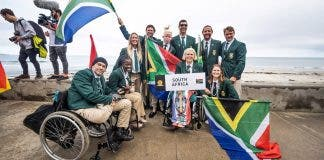 south africa medals para surfing