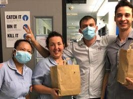 south african company feed london nhs nurses
