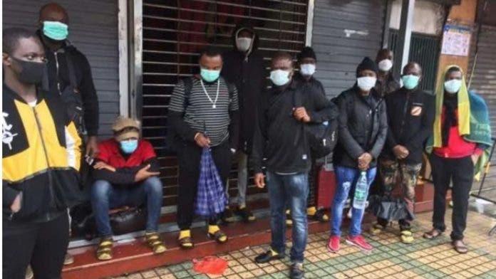 china discriminates africans allegedly coronavirus