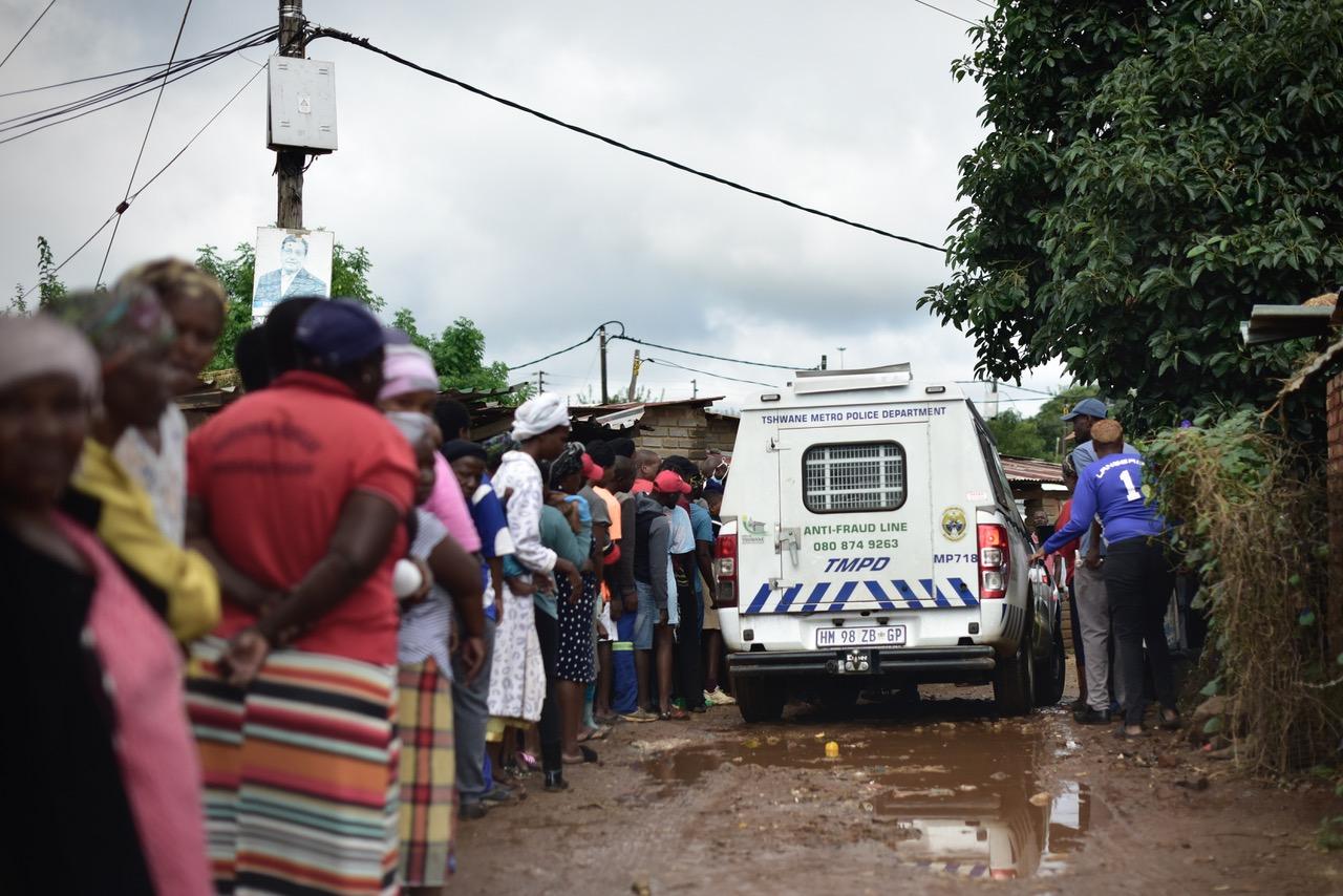 township south africa feeding scheme coronavirus