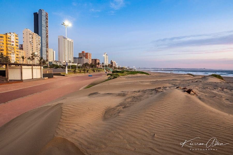Durban Lockdwon Beach