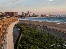Durban Lockdown Beach and City