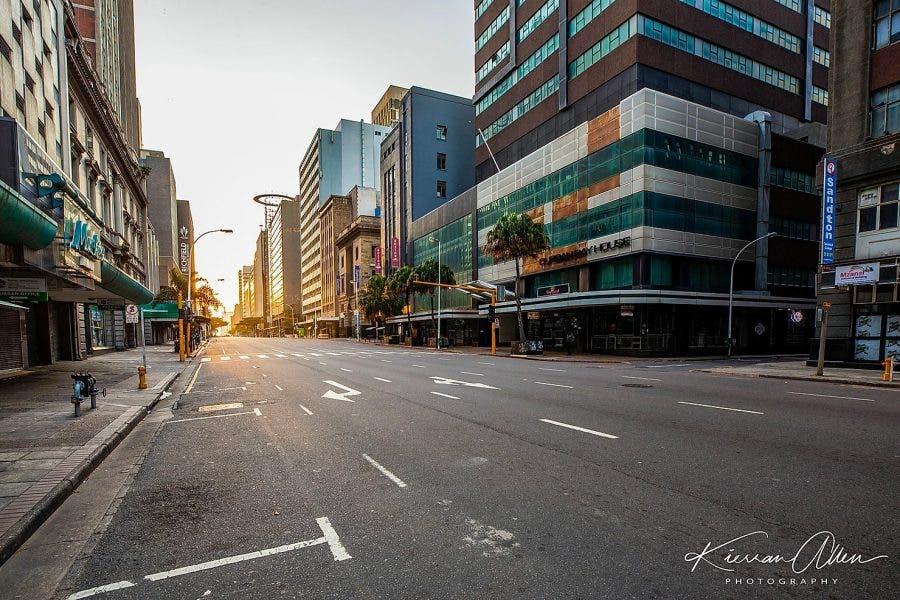 Durban Lockdwon Road