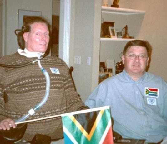 ari seirlis with christopher reeve