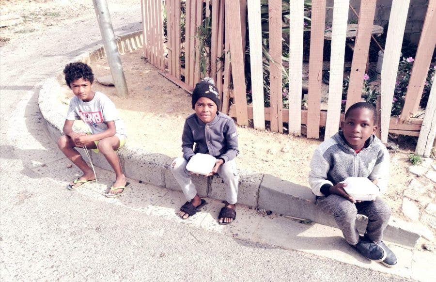 children food donations gordons bay