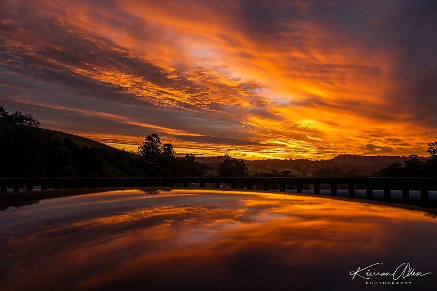 durban easter sunday lockdown sunset