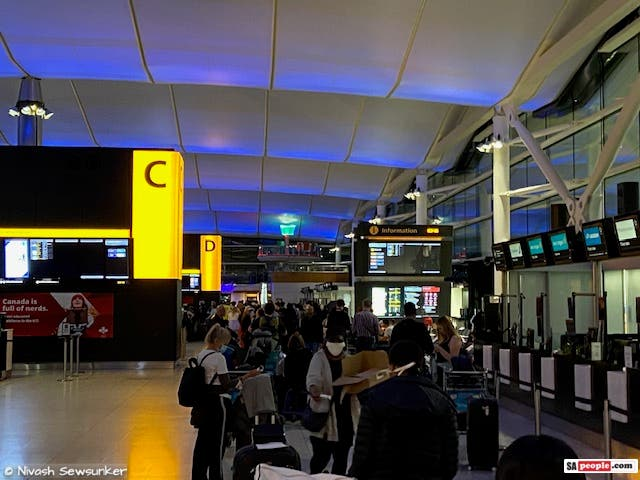 heathrow early morning south africans repatriation