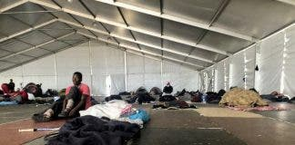 homeless people cape town police rubber bullets
