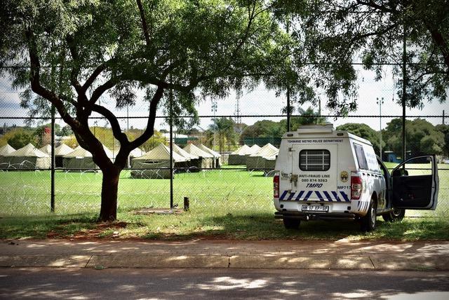 homeless shelter lyttleton south africa lesufi
