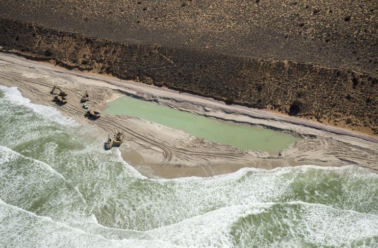 mining western cape beach south africa