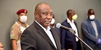 president ramaphosa reponse covid bbc gcis