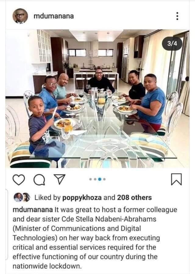 stella ndabeni abrahams south africa minister