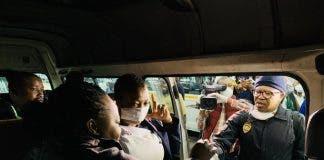 taxi capacity coronavirus south africa