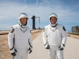 astronauts space-x elon musk mission