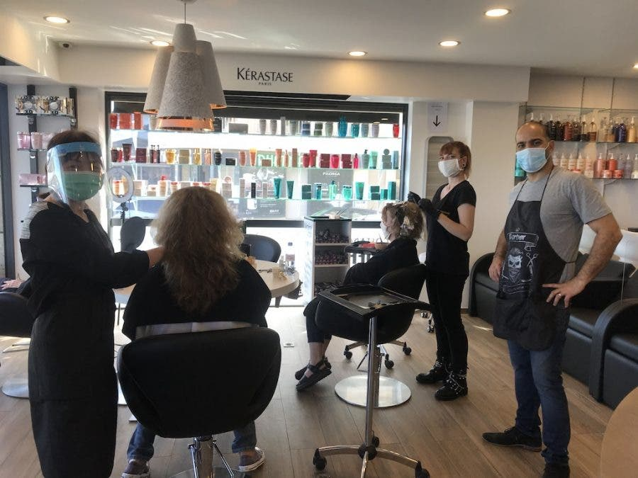 cortes hair salon antibes