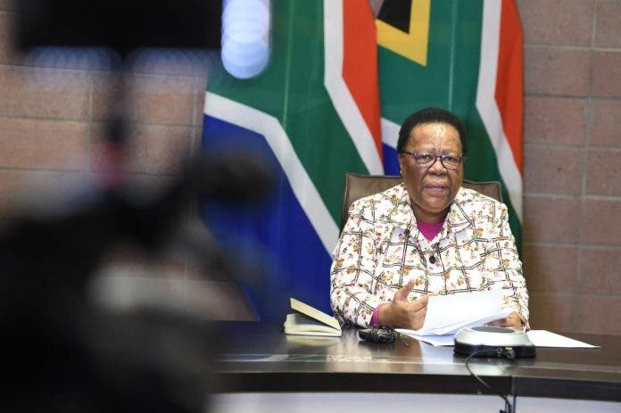 pandor repatriated south african